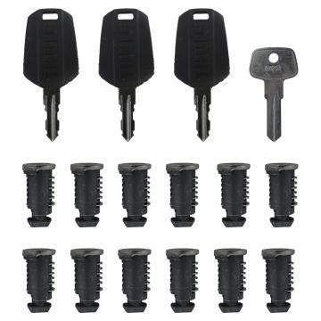 12 Schließzylinder Thule One Key System