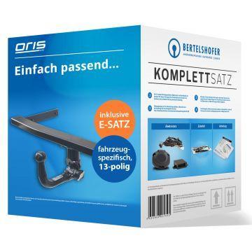 Komplettsatz: AHK und 13 pol. E-Satz für VW Passat CC Coupe (06.2008 - 01.2012)