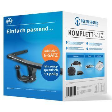 Komplettsatz: AHK und 13 pol. E-Satz für VW Eos (03.2006 - 12.2010)