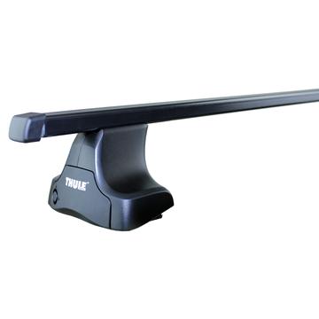 Dachträger Thule SquareBar für Audi A4 Limousine 07.2011 - 10.2015 Stahl