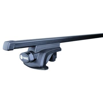 Dachträger Thule SquareBar für VW Touareg 10.2014 - 05.2018 Stahl