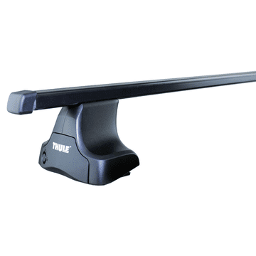 Dachträger Thule SquareBar für Suzuki Alto 09.1994 - 05.2002 Stahl