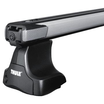 Dachträger Thule SlideBar für Ford Mondeo Fliessheck 10.2014 - jetzt Aluminium