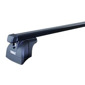Dachträger Thule SquareBar für Suzuki SX4 Fliessheck 10.2013 - jetzt Stahl