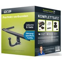 Anhängerkupplung + 7 pol. Elektrosatz Opel Corsa D Fliessheck (11.2006 - 11.2014)