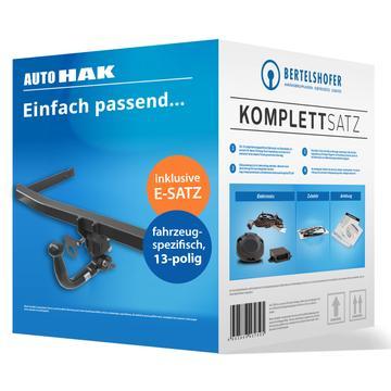 Komplettsatz: AHK und 13 pol. E-Satz für Citroen C3 Fliessheck (11.2009 - 12.2016)